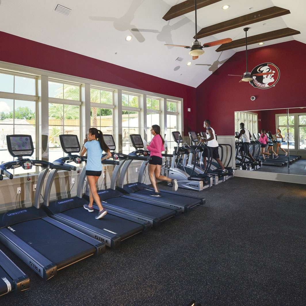 24-hour Fitness Center At Redpoint
